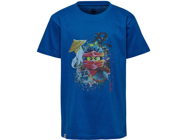 LEGO wear CM 50231 Camiseta Manga Corta Niños, blue